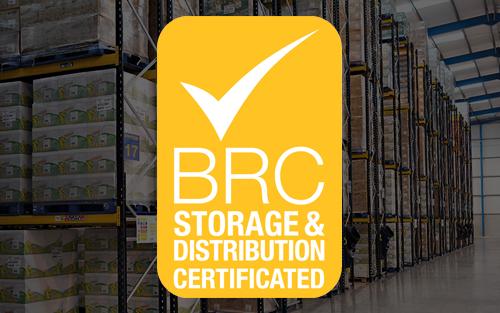 brc storage distribution