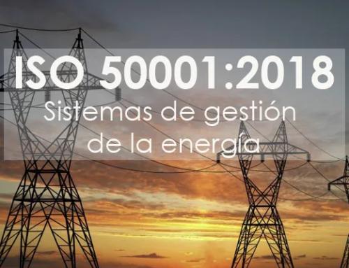 ISO 50001:2018 Presente y futuro de la Eficiencia Energética